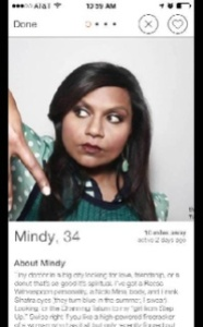 Tinder: The Mindy Project