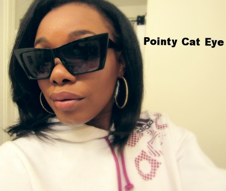 Retro City Sunglasses: Pointy Cat Eye