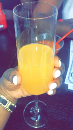 Blend on the Water Mango Bellini