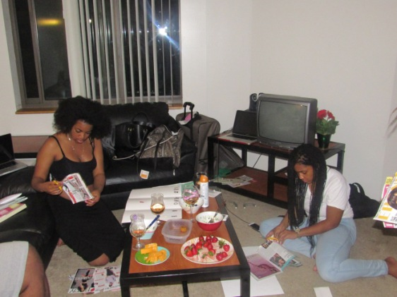 Vision board party 2015